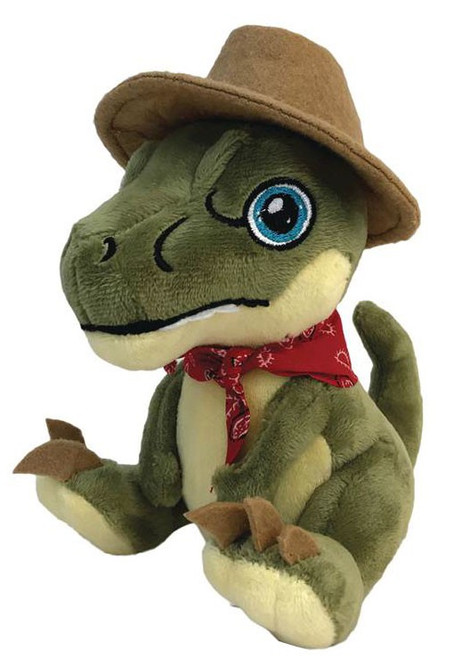 Jurassic Park Clawzplay Alan (Raptor) Plush Toy
