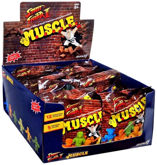 M.U.S.C.L.E. Street Fighter II Mystery Box [36 Packs]