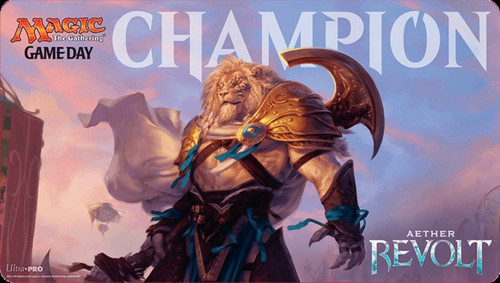 Ultra Pro MtG Card Supplies Aether Revolt Game Day Playmat [Ajani Unyielding]