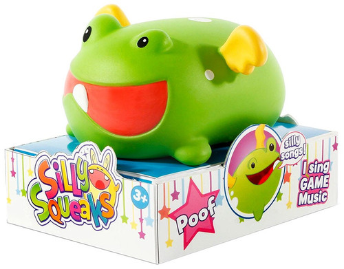 Silly Squeaks Musical Pets Series 1 Poof