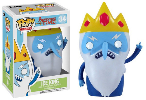 Funko Adventure Time POP! TV Ice King Vinyl Figure #34 [Damaged Package]