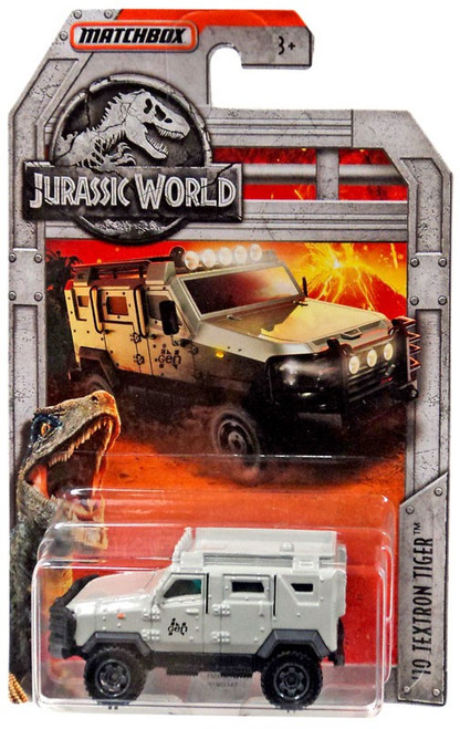 Jurassic World Matchbox '10 Textron Tiger Diecast Vehicle [Gray]