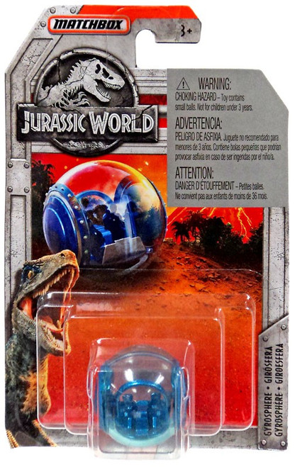 Jurassic World Matchbox Gyrosphere Diecast Vehicle