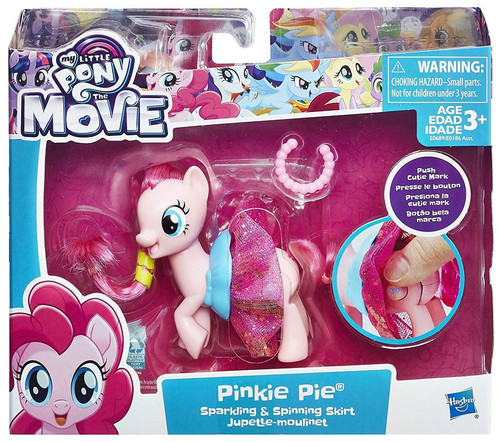 My Little Pony The Movie Magic Expression Pinkie Pie Figure [Sparkling & Spinning Skirt]