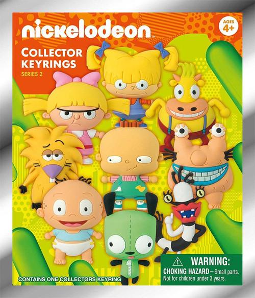 3D Figural Keyring Nickelodeon Series 2 Mystery Pack [1 RANDOM Figure]