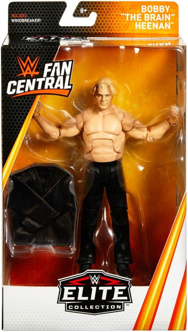 "WWE Wrestling Elite Fan Central Bobby ""The Brain"" Heenan Action Figure"