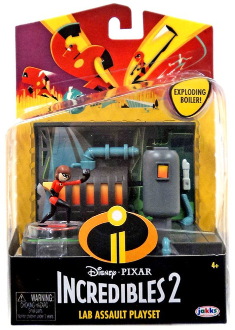 Disney / Pixar Incredibles 2 Lab Assault Playset