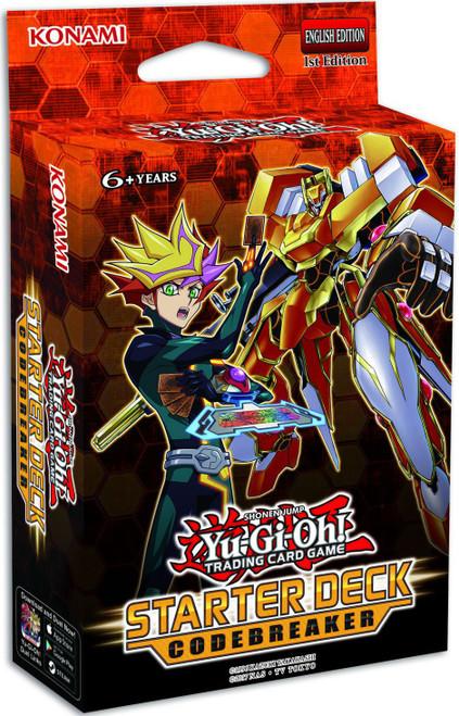 YuGiOh Trading Card Game Codebreaker Starter Deck