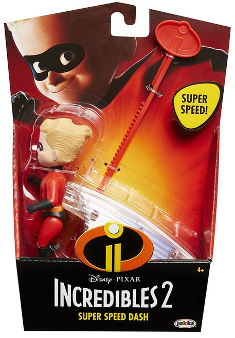 Disney / Pixar Incredibles 2 Feature Dash Action Figure [Super Speed]