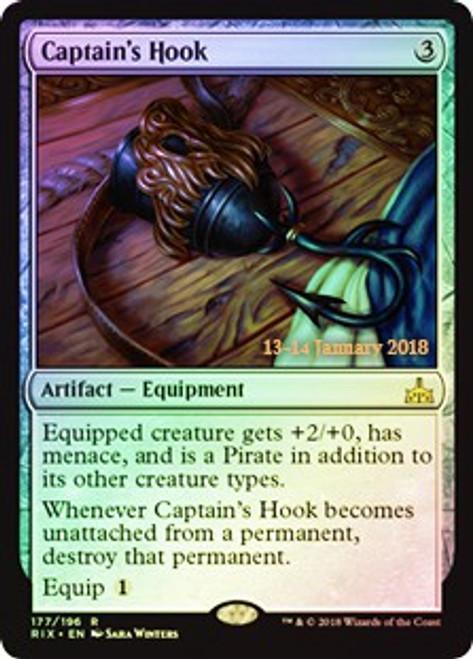 MtG Prerelease & Release Promo Captain's Hook [Rivals of Ixalan Prerelease]