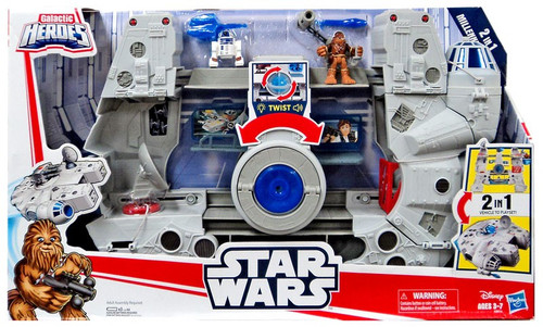 Star Wars Galactic Heroes 2-In-1 Millennium Falcon Vehicle