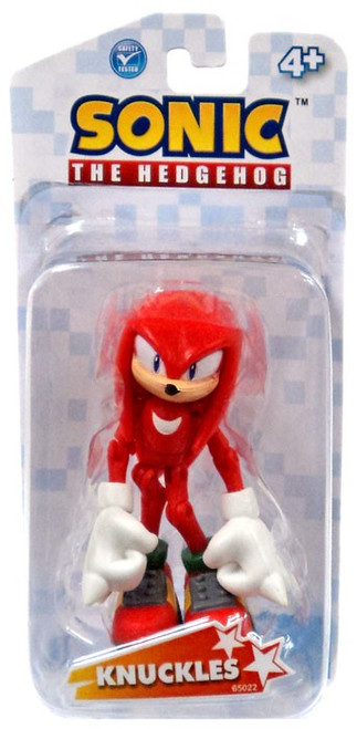 Sonic The Hedgehog Knuckles Action Figure
