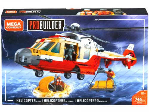 Mega Construx Helicopter Rescue Set