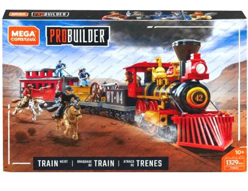 Mega Construx Train Heist Set