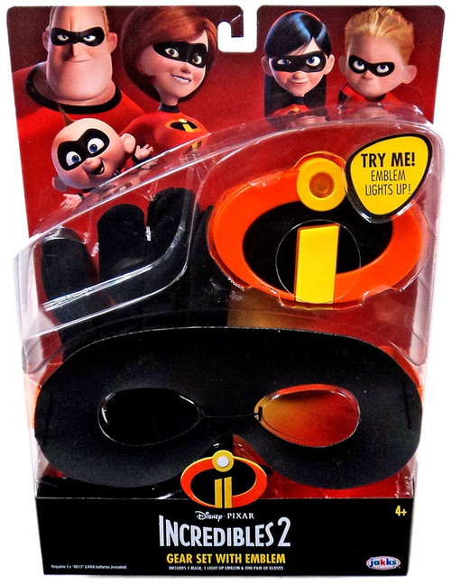 Disney / Pixar Incredibles 2 Gear Set with Emblem Roleplay Set