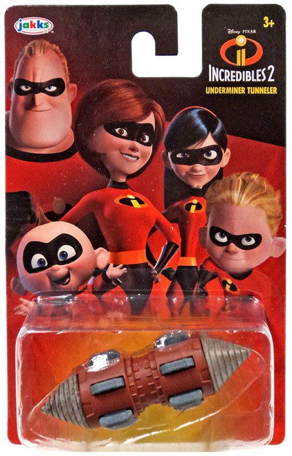 Disney / Pixar Incredibles 2 Underminer Tunneler Diecast Car