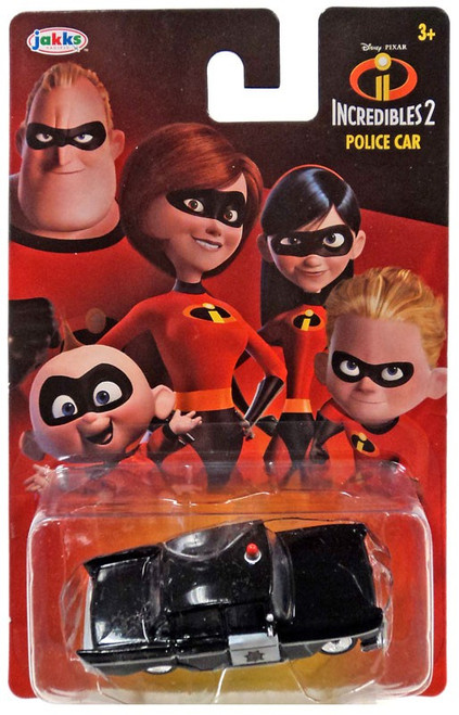 Disney / Pixar Incredibles 2 Police Car Diecast Car