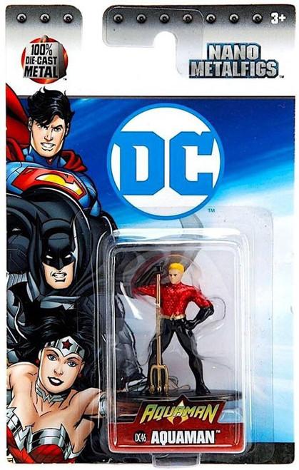 DC Nano Metalfigs Aquaman 1.5-Inch Diecast Figure DC46 [DC46]