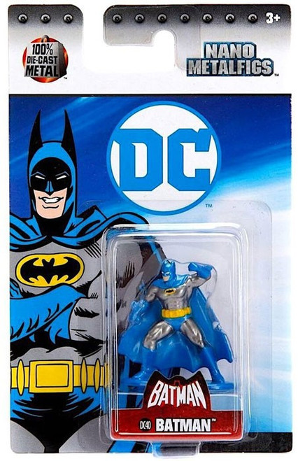 DC Nano Metalfigs Batman 1.5-Inch Diecast Figure DC40 [DC40]