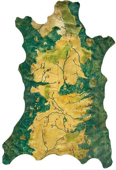 Game of Thrones Westeros Map 50-Inch Prop Replica