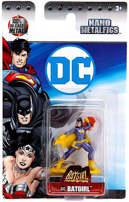 DC Nano Metalfigs Batgirl 1.5-Inch Diecast Figure