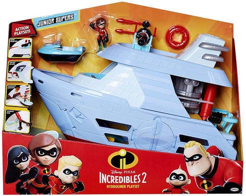 Disney / Pixar Incredibles 2 Junior Supers Hydroliner Playset