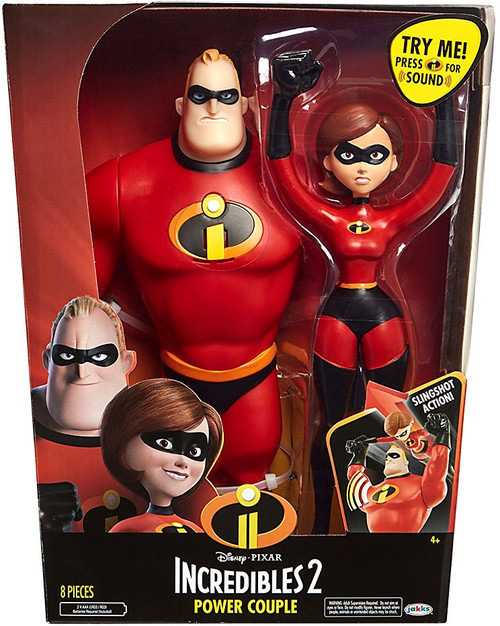 Disney / Pixar Incredibles 2 Power Couple 12-Inch Figure 2-Pack