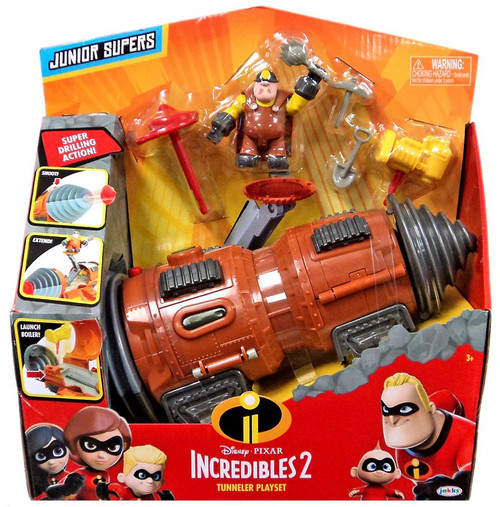 Disney / Pixar Incredibles 2 Junior Supers Tunneler Playset