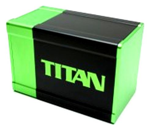 Box Gods Titan Green Deck Box
