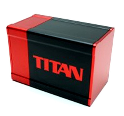 Box Gods Titan Red Deck Box