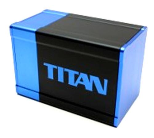 Box Gods Titan Blue Deck Box
