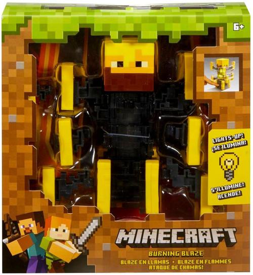 Minecraft Light Up Burning Blaze Action Figure