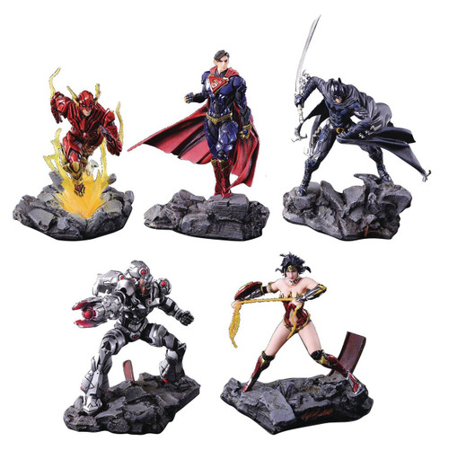 DC Trading Arts Figure 4.5-Inch Mystery Pack [1 RANDOM Character]