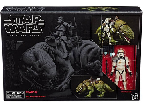 Star Wars Black Series Dewback & Sandtrooper Action Figure Set