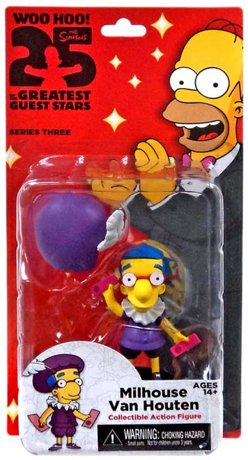 NECA The Simpsons Greatest Guest Stars Series 3 Milhouse Action FIgure