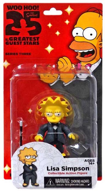 NECA The Simpsons Greatest Guest Stars Series 3 Lisa Simpson Action FIgure