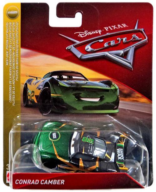 "Disney / Pixar Cars Cars 3 ""Next-Gen"" Piston Cup Racers Conrad Camber Diecast Car [Shiny Wax]"