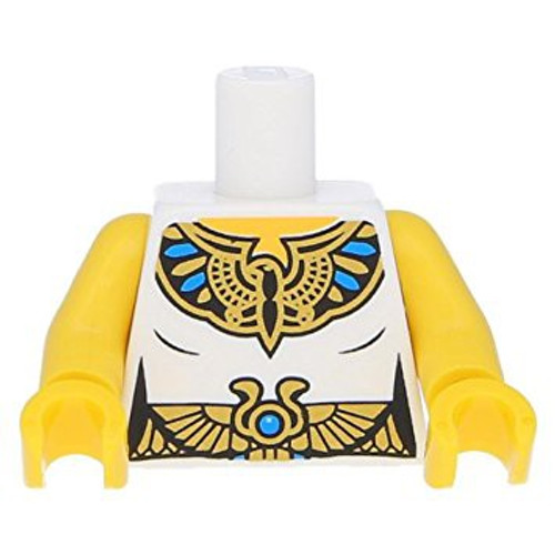 LEGO Female Tunic with Egyptian Royal Seal and Belt Loose Torso [Loose]