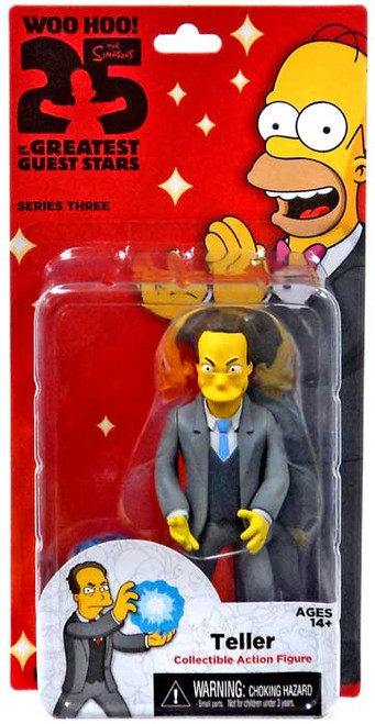 NECA The Simpsons Greatest Guest Stars Series 3 Teller Action FIgure