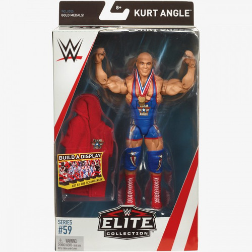 WWE Wrestling Elite Collection Series 59 Kurt Angle Action Figure