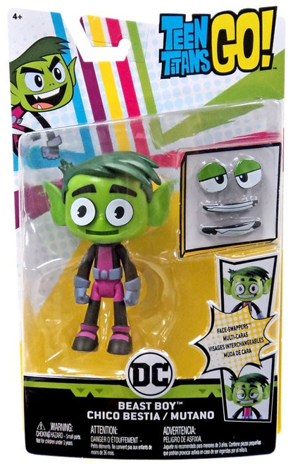 Teen Titans Go! Face-Swappers Beast Boy Action Figure