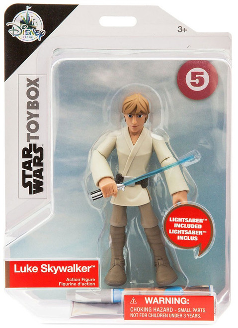 Disney Star Wars Toybox Luke Skywalker Exclusive Action Figure