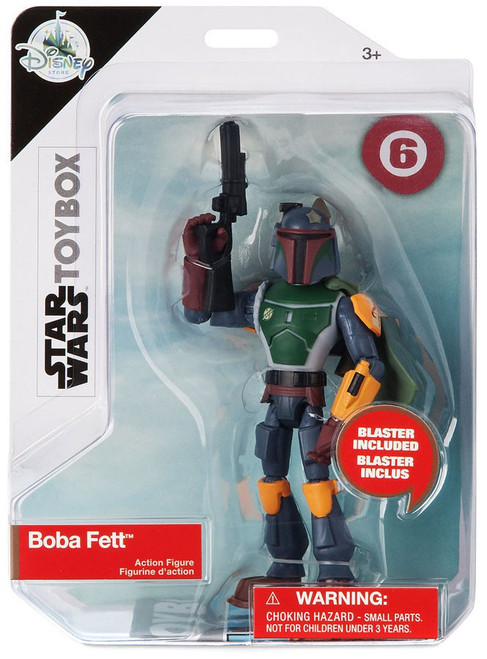 Disney Star Wars Toybox Boba Fett Exclusive Action Figure