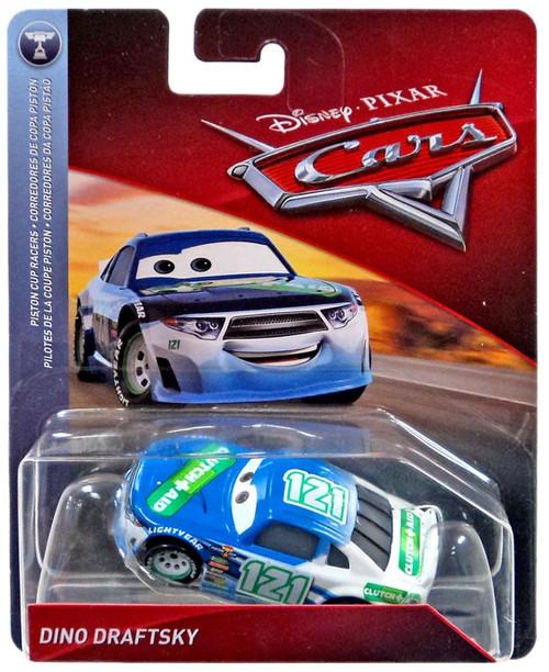 Disney / Pixar Cars Cars 3 Piston Cup Racers Dino Draftsky Diecast Car [Clutch Aid, No Card]
