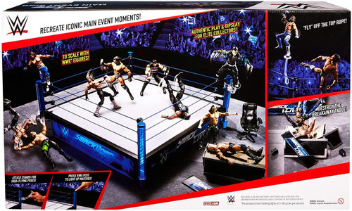 WWE Wrestling Smackdown Main Event Elite Scale Ring [Jinder Mahal Action Figure]