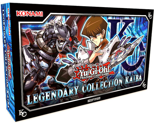 YuGiOh Trading Card Game Kaiba (Unlimited) Legendary Collection Box [3 Kaiba MEGA Booster Packs & 5 Ultra Rare Variants!]