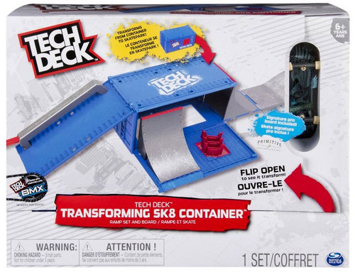 Tech Deck Transforming Sk8 Container Playset