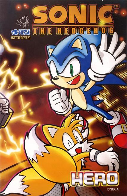 Sega Sonic The Hedgehog Part 1 of 2 Hero Comic Book