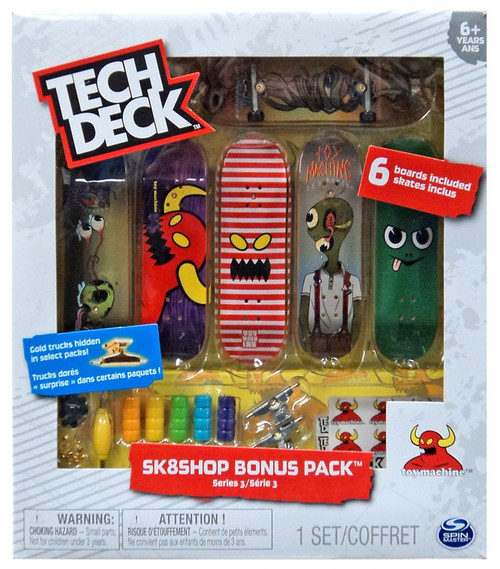 Tech Deck Series 3 Sk8shop Bonus Pack [Toy Machine]