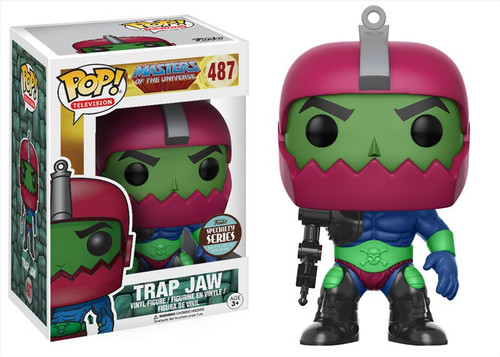 Funko Masters of the Universe POP! TV Trap Jaw Exclusive Vinyl Figure #487 [Damaged Package, Specialty Series]